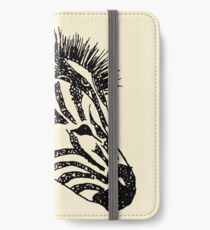 zebra iPhone Wallet/Case/Skin