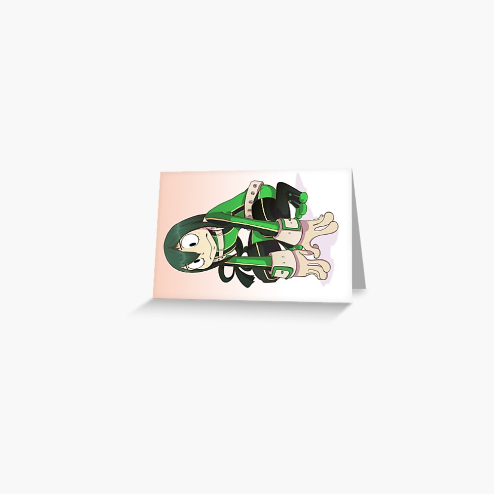 Froppy Greeting Card