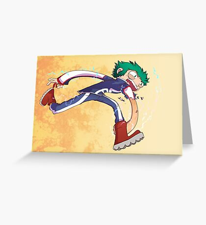 Izuku Midoriya (Deku) Greeting Card