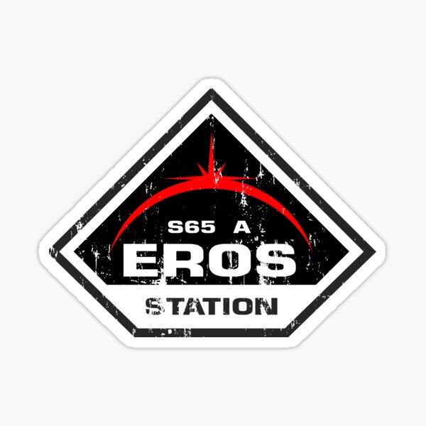 Eros Station Sticker