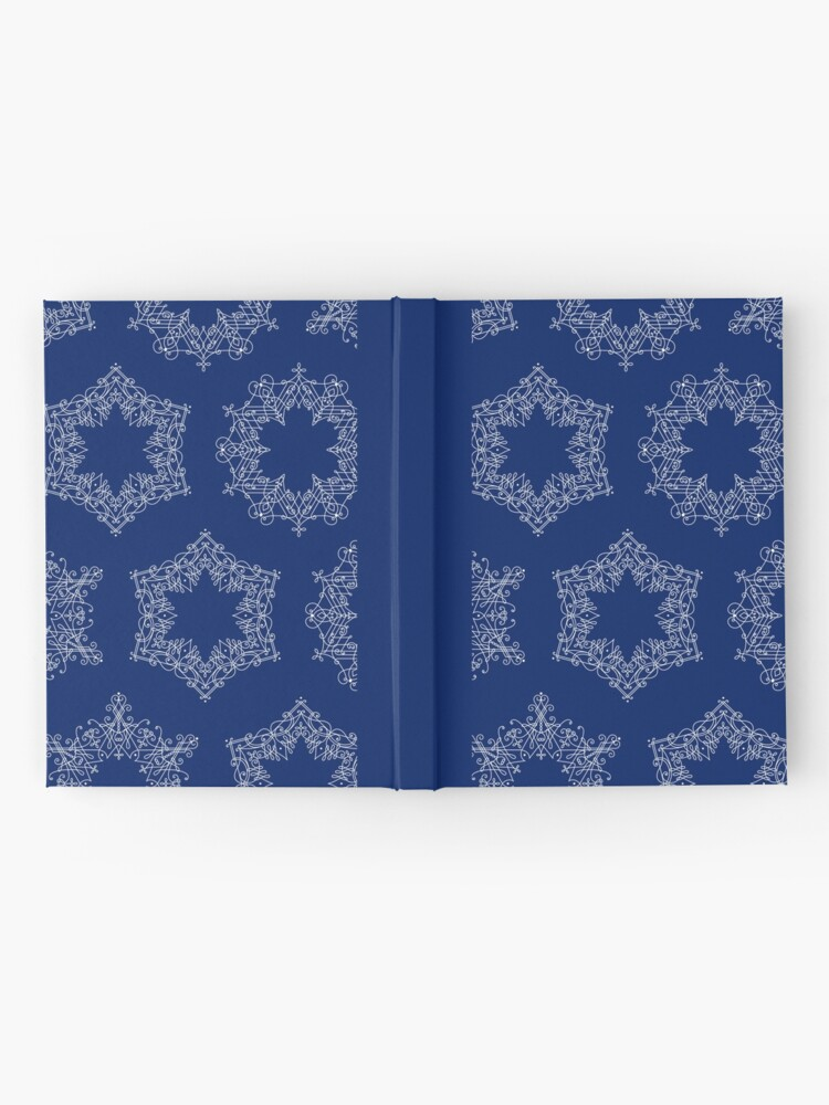 Alternate view of Delicate Snowflakes Hardcover Journal
