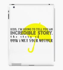 Incredible Story iPad Case/Skin