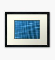 Water Pattern #2 Framed Print