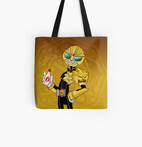 It's LUNCHTIME!!!! Kamen Rider Beast All Over Print Tote Bag