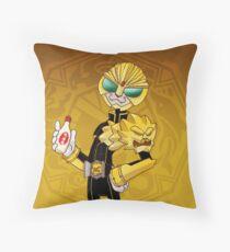 It's LUNCHTIME!!!! Kamen Rider Beast Throw Pillow