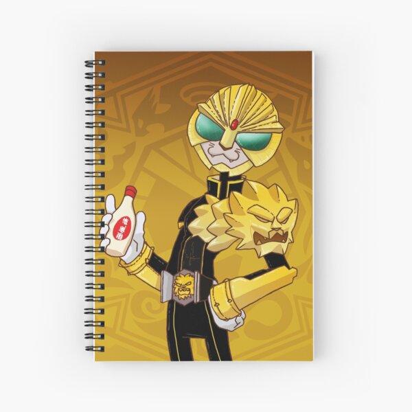 It's LUNCHTIME!!!! Kamen Rider Beast Spiral Notebook
