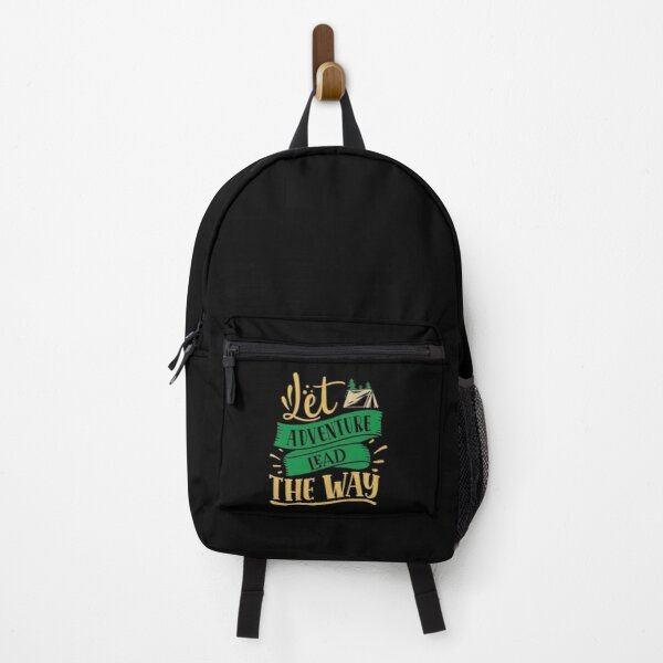 Let adventure lead the way Backpack