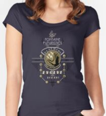 Fontaine Futuristic's Plasmids Ad Women's Fitted Scoop T-Shirt