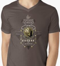 Fontaine Futuristic's Plasmids Ad Men's V-Neck T-Shirt