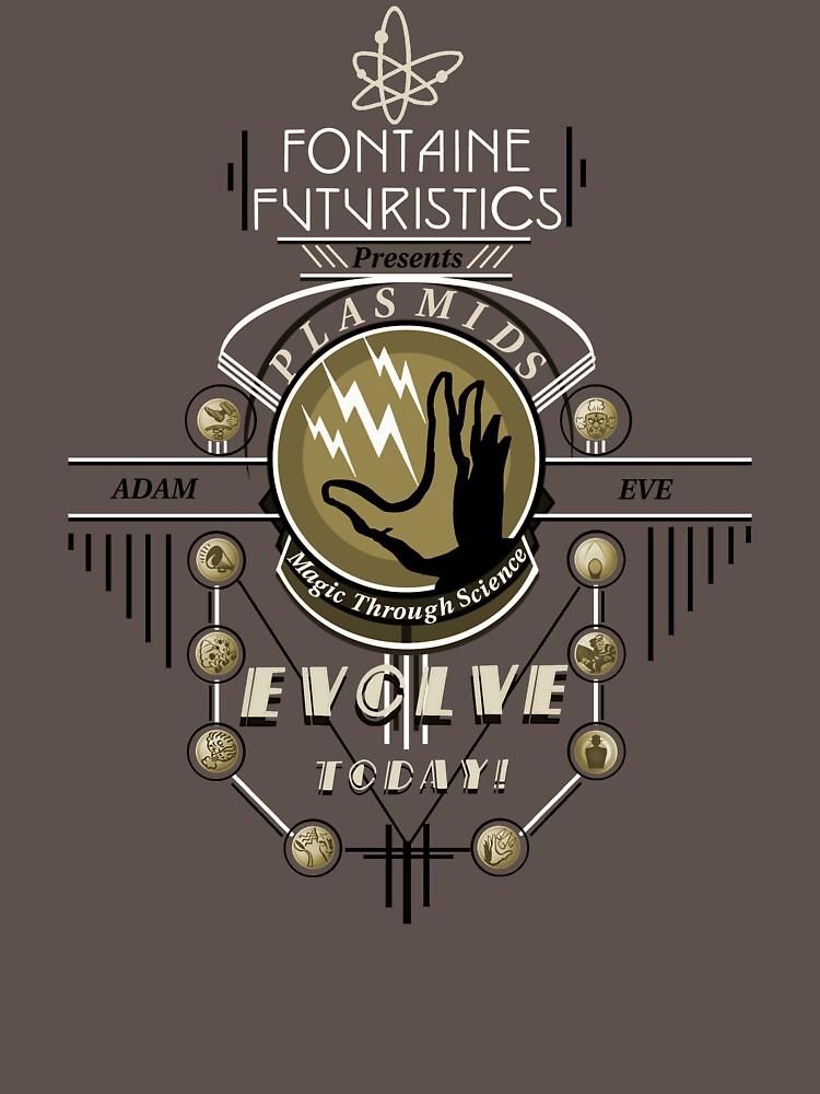 Fontaine Futuristic's Plasmids Ad by DangerousBear