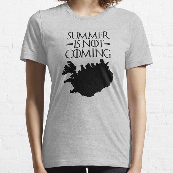 Ho Ho Weihnachten Winter Schnee Stark GoT Damen T-Shirt Hold the Door