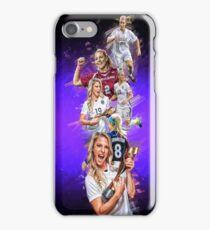 Julie Johnston (From Santa Clara University to Chicago Red Stars + National Team) iPhone Case/Skin