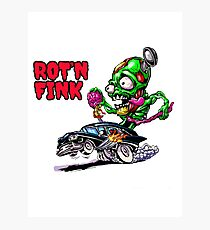 ROT'N FINK Photographic Print