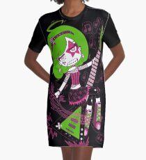 Lulu Rock Star by Lolita Tequila Graphic T-Shirt Dress