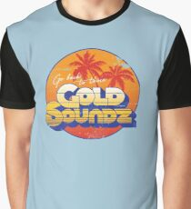 Camiseta gráfica Gold Soundz