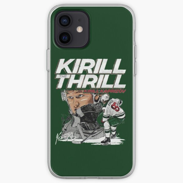 Kirill the Thrill pour les fans du Minnesota Wild Coque souple iPhone
