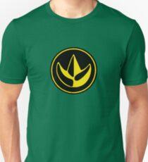 Mighty Morphin Power Rangers Green Ranger Symbol Unisex T-Shirt
