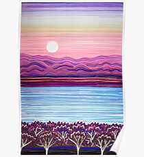 PERFECT PASTELS - Sunset Moon Poster