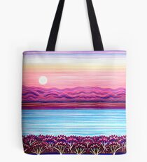 PERFECT PASTELS - Sunset Moon Tote Bag