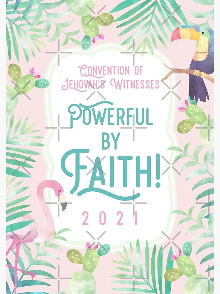 POWERFUL BY FAITH! by JenielsonDesign