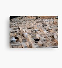 Jewish Graves Canvas Print