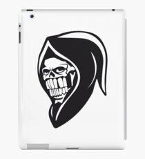 Death hooded sweatshirt evil iPad Case/Skin