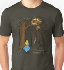 My Neighbor in Wonderland (Army) T-Shirt