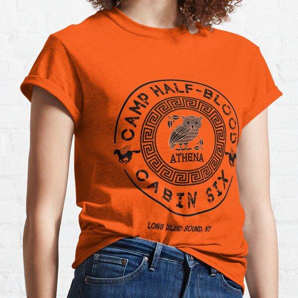 Cabin Six Athena Gift Percy Jackson Camp Half Blood Classic T-Shirt