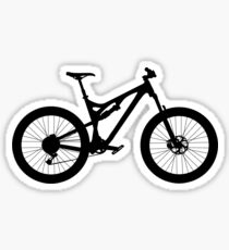 Mountain Bike Bicycle Sticker