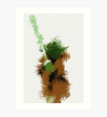 The Green Warrior Art Print