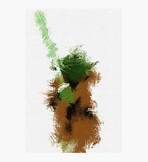 The Green Warrior Photographic Print
