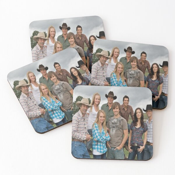 HEARTLAND ~SHOW Cast  Coasters (Set of 4)