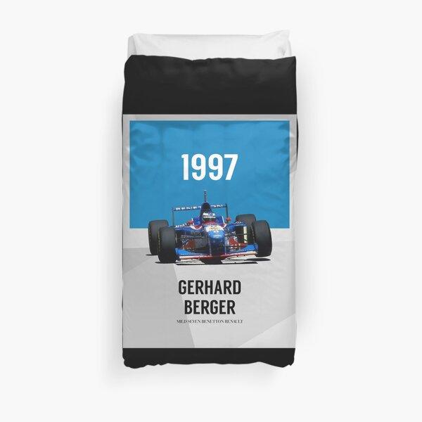 Gerhard Berger - F1 1997 Funda nórdica
