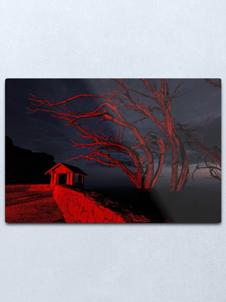 Alternate view of The Horn, Mt Buffalo Victoria.  Metal Print