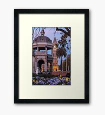 War Memorial Dusk Framed Print