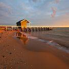 Shelly Beach Sunrise by Nick Skinner