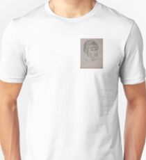 Bust of a lady Unisex T-Shirt