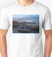 Vesuvius and the Boats II Unisex T-Shirt