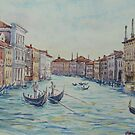 Grand Canal, Venice by Virginia  Coghill
