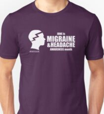 Migraine and Headache Awareness Month Design 1 Unisex T-Shirt