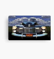 41 Cadillac Blue on Blue Capturing the Mood of an Age Canvas Print
