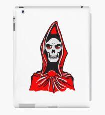 Death hooded robe evil iPad Case/Skin