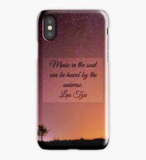 Music in the Soul iPhone Case/Skin