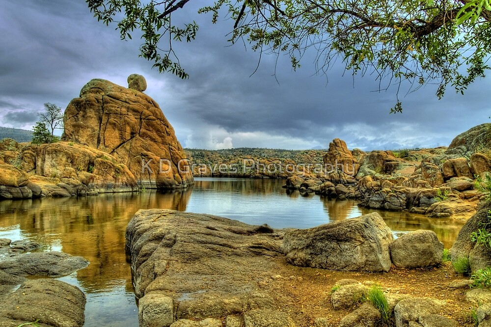 Granite Dells by K D Graves Photography