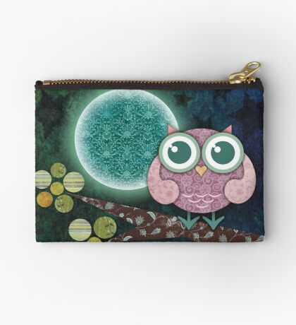 Midnight Owl Zipper Pouch
