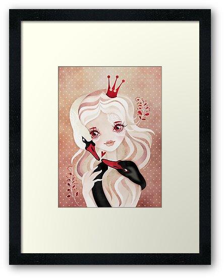 Swan Princess by sandygrafik