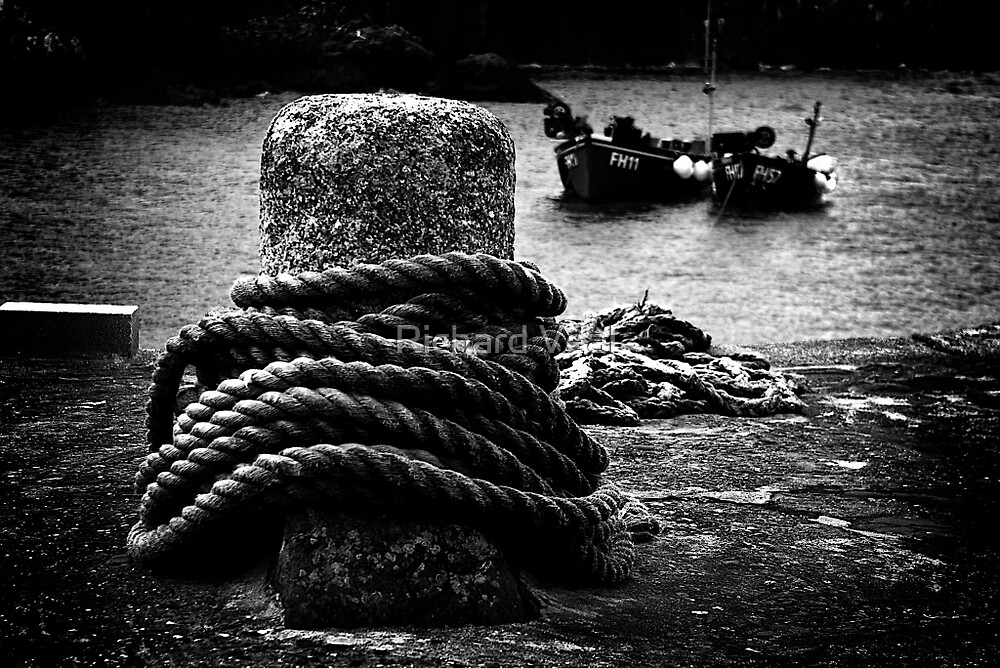 Bollard & Boats by kcphotography