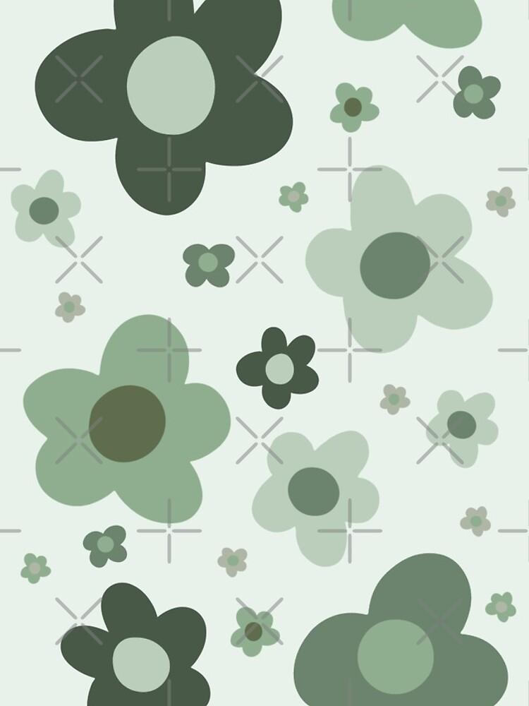 daisies green  by selinasherman