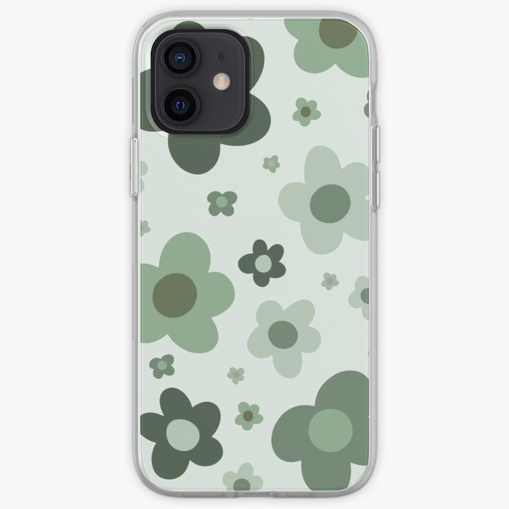 daisies green  iPhone Case & Cover