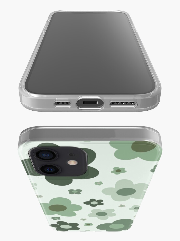 Alternate view of daisies green  iPhone Case & Cover